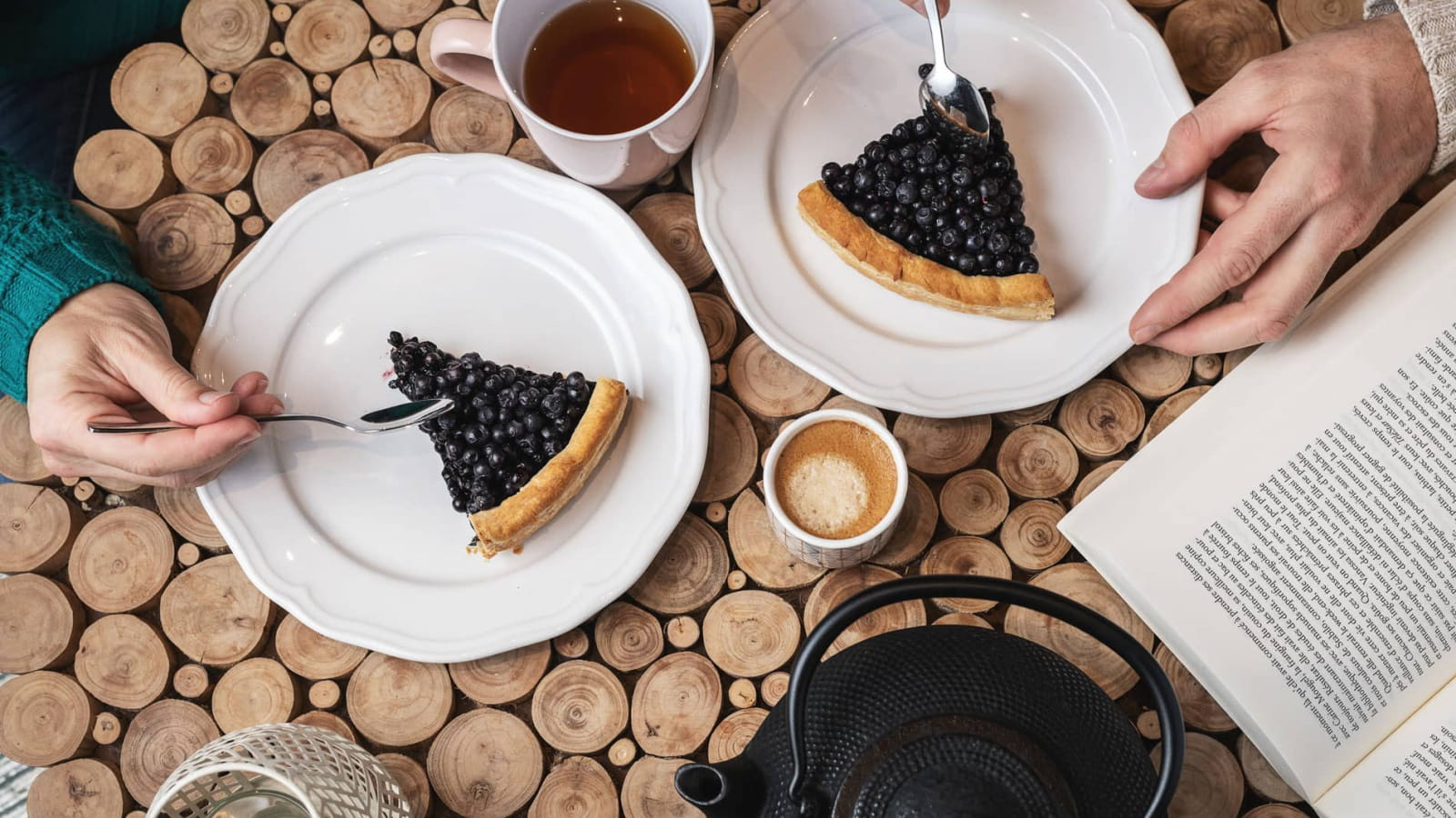 Brimbelle - La tarte aux myrtilles