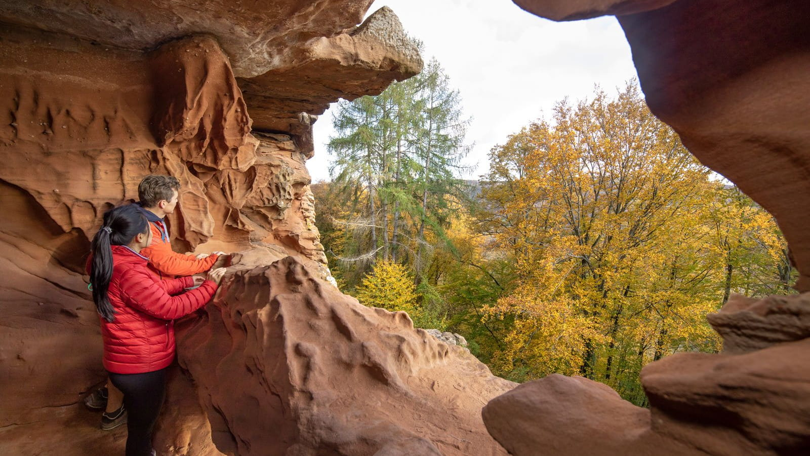 Randonnée Falkenstein dans les Vosges du Nord