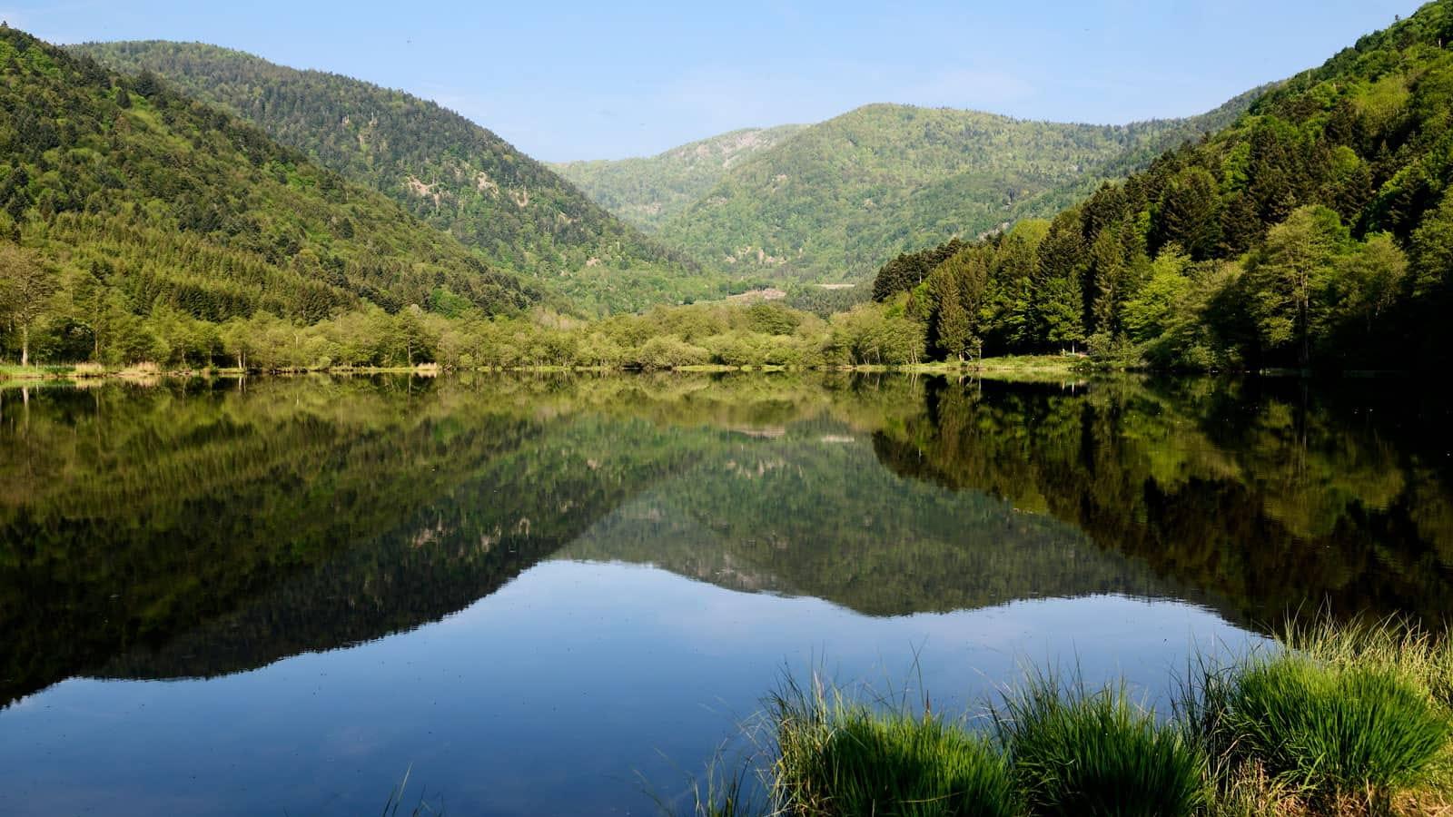 Vosges du Sud - Lac Sewen