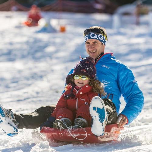 Skier, se poser, se reposer
