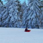 Piste de luge du Calvaire - Lac Blanc 1200