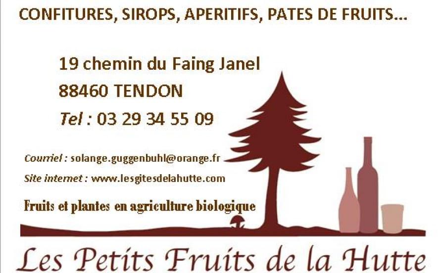 LES PETITS FRUITS DE LA HUTTE