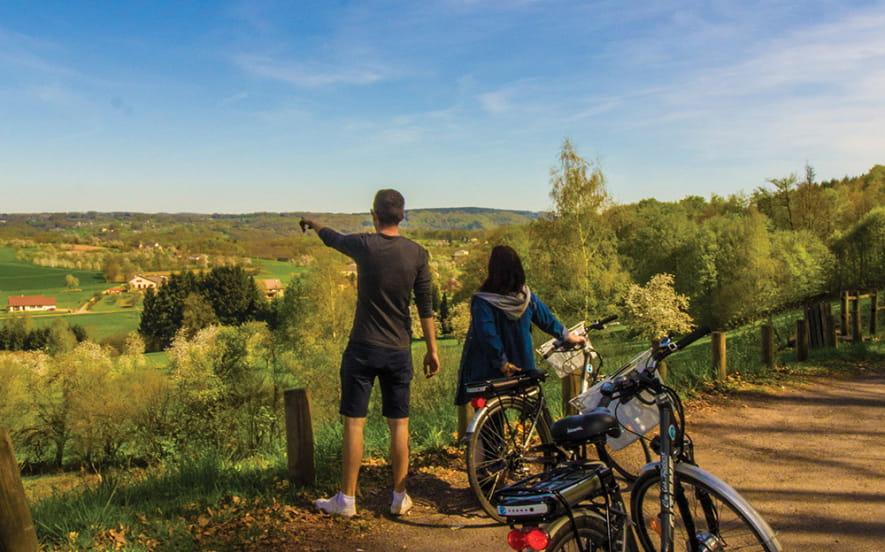 Balades a vélo sur la route des chalots