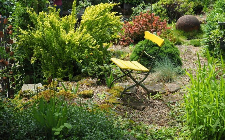 Le jardin d'un Brocanteur