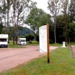 Aire de services pour camping-cars