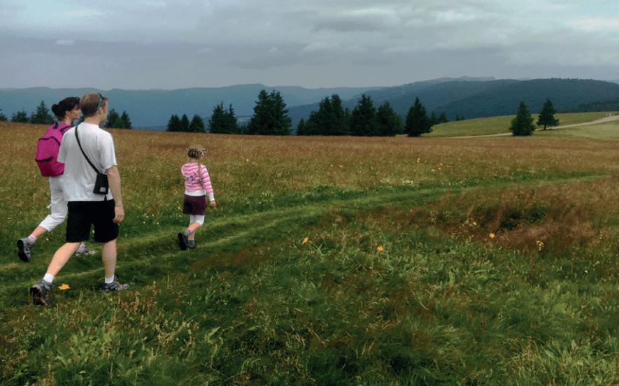 Balade en famille : Station du Markstein et Route des Crêtes