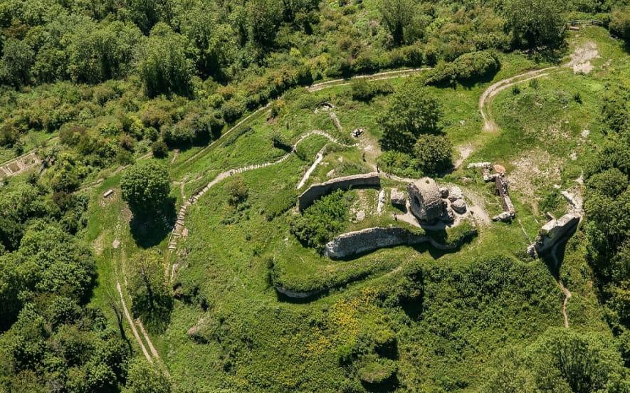 Les ruines du Château de l'Engelbourg