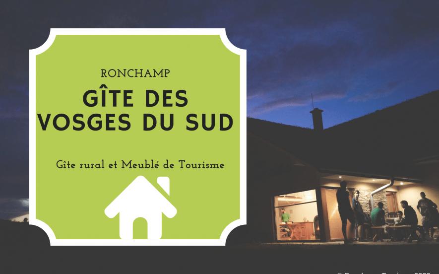Gîte des Vosges du Sud