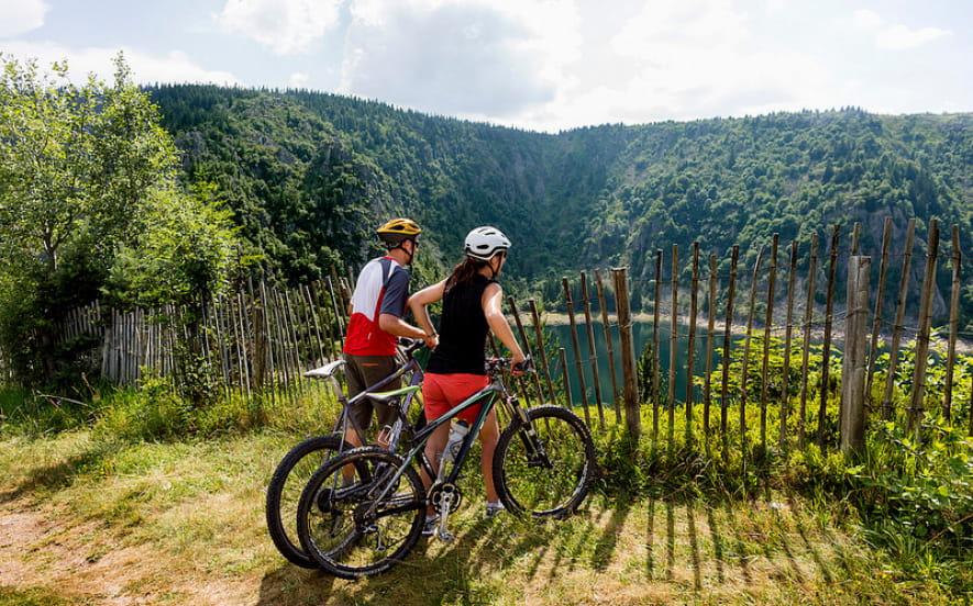 Vélo évasion - randonnée itinérante en VTT