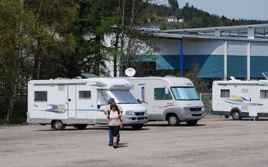 AIRE DE STATIONNEMENT CAMPING CAR DE GERARDMER