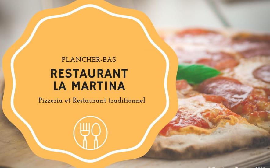Restaurant Pizzéria LA MARTINA