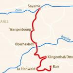 Alsace : Terre des Châteaux fort partie centrale