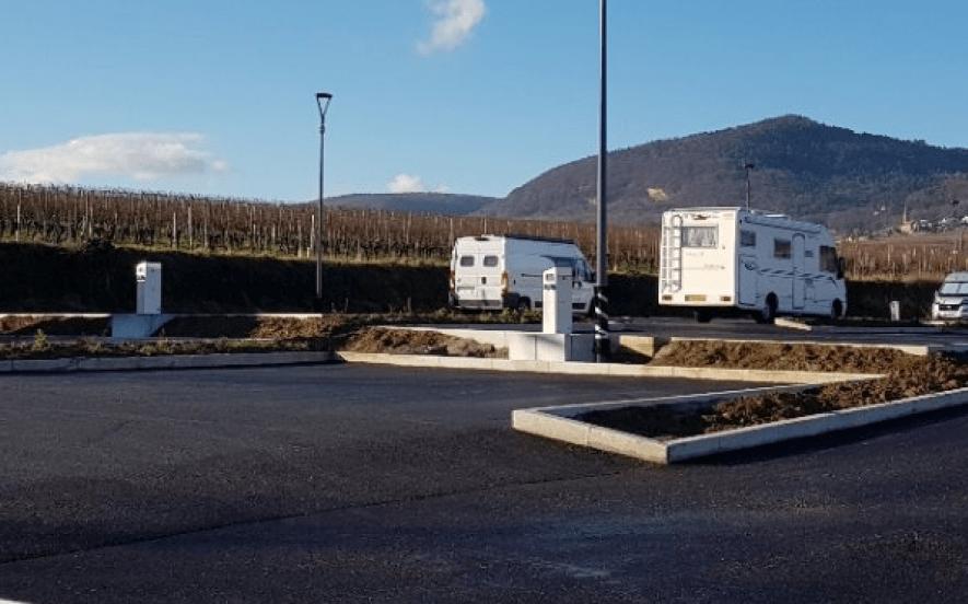 Aire de camping-cars d'Eguisheim