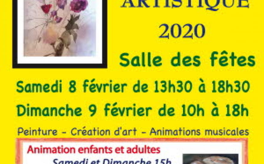 Exposition artistique a champagney