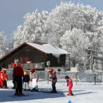 Ski alpin au ballon d'alsace