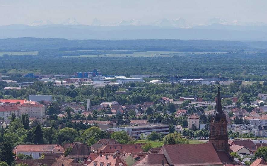 Panorama du plateau de la Loh