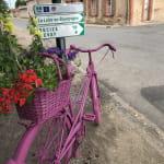 Relais vélo route de Charrin