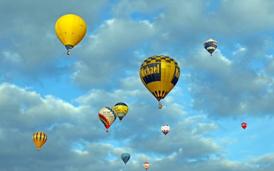Echappée en montgolfière     2jours/1 nuit           à partir de 265 € / pers