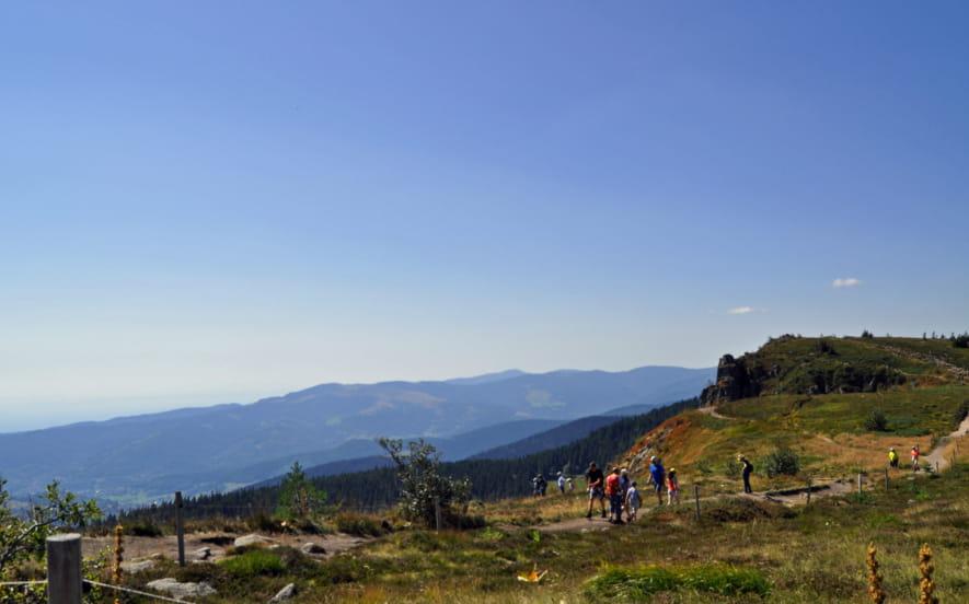 Le Tour d'Horizon (randonnée pédestre sans bagages)