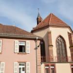 Le couvent de la Congrégation des Soeurs du Très Saint Sauveur