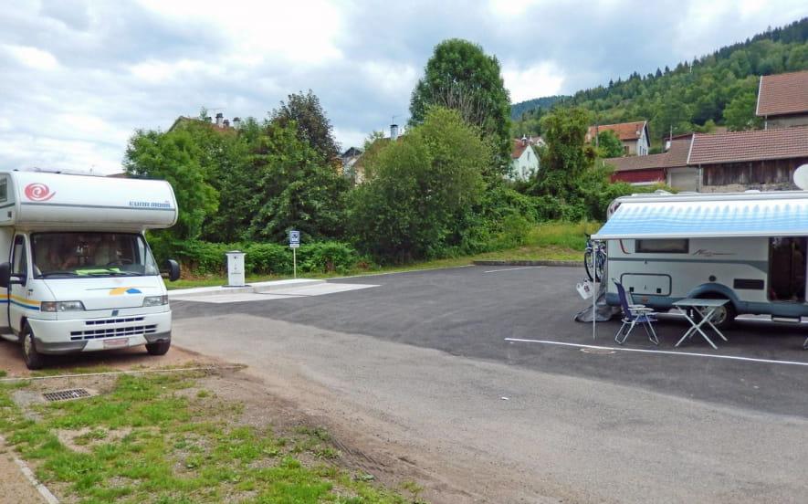 AIRE DE STATIONNEMENT CAMPING-CAR DE CORNIMONT