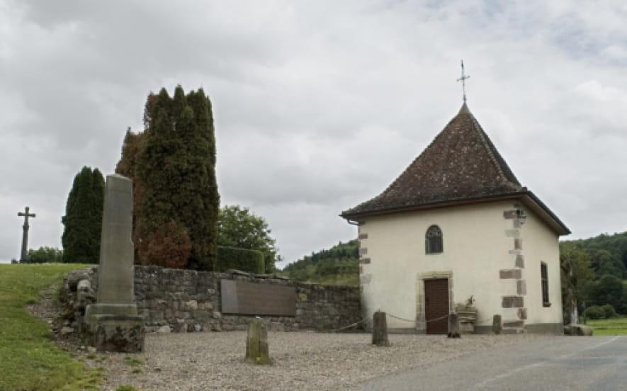 Ancien prieure Saint Jean Baptiste à Annegray