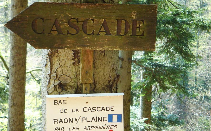 CASCADE DE LA CRACHE