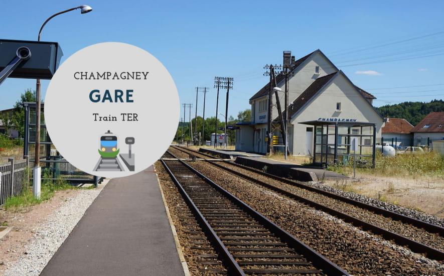 Gare de Champagney
