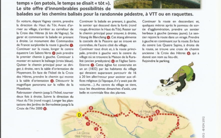 CIRCUIT JEU DE PISTE RANDOLAND - LE HAUT DU TOT