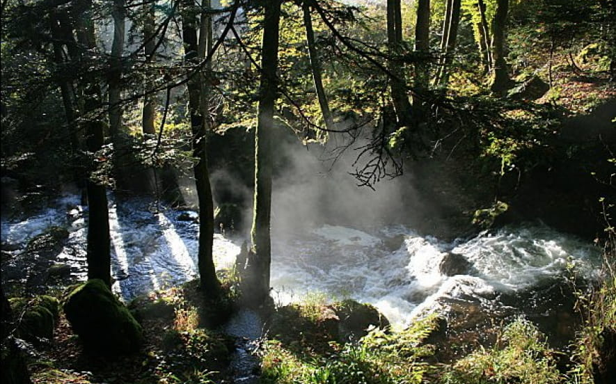 Les cascades du Seebach