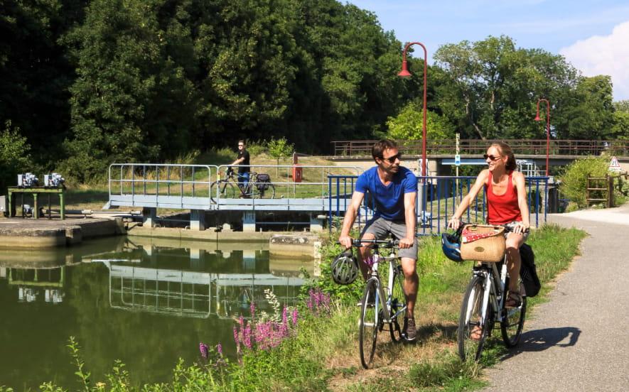 Séjour à vélo dans le Sundgau en étoile