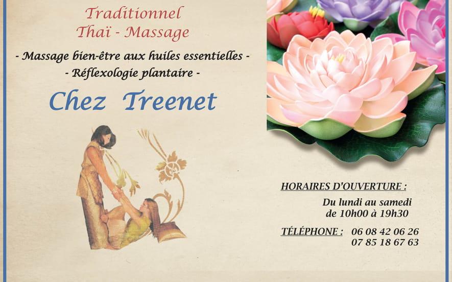 Massage traditionnel thaï - Chez Treenet