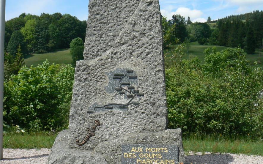 MONUMENT AUX GOUMS MAROCAINS