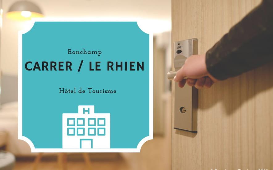 Hôtel Le Rhien Carrer