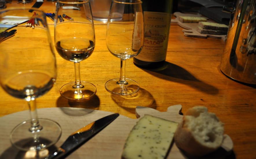 La Parenthèse Vigneronne ''Grand Crus d'Alsace et fromages''