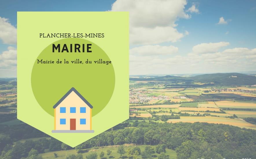 Mairie de Plancher-les-Mines