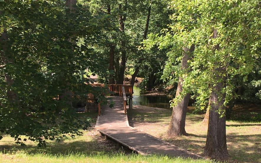 Sentier poussette : Le long du Giessen