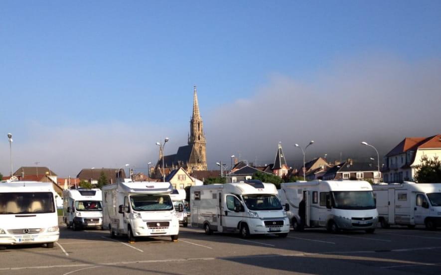 Aire de service pour camping-car : parking du Centre