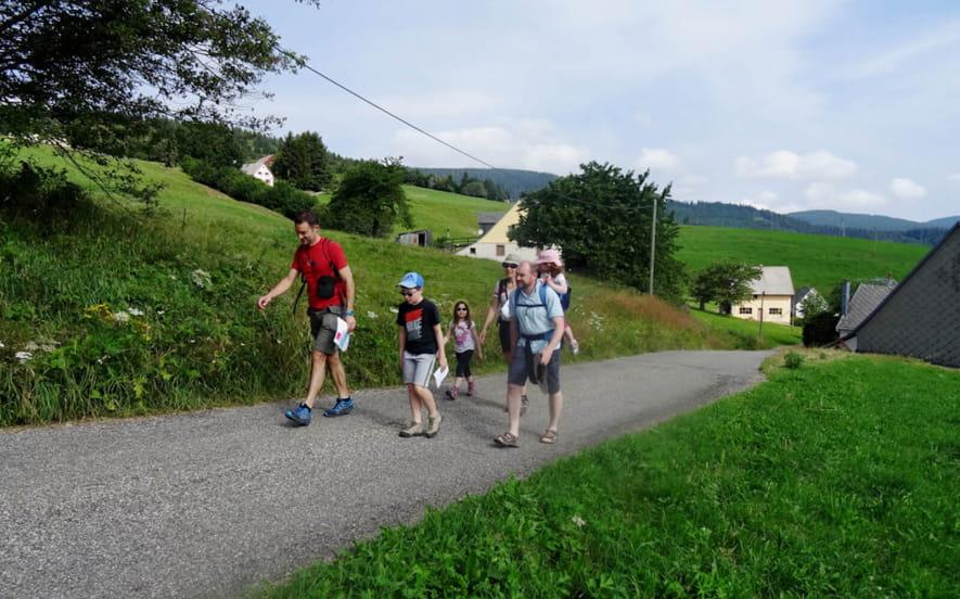 Balade famille - Les Hautes huttes