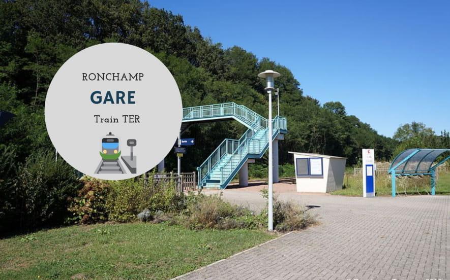 Gare de Ronchamp