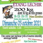 Deux Journées truites Étang Lechir Sermamagny 03 et 17 octobre 2021