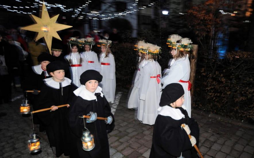 La sainte Lucie, fête de la lumière