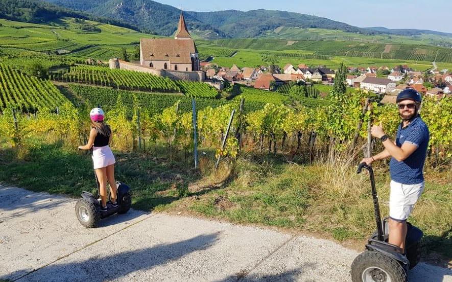 Fun Moving - L'Alsace à gyropode !