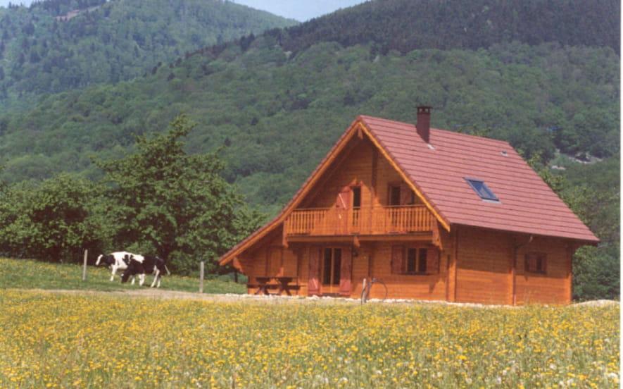 Gîte de France n°1647 - Petit Chalet dans la Prairie